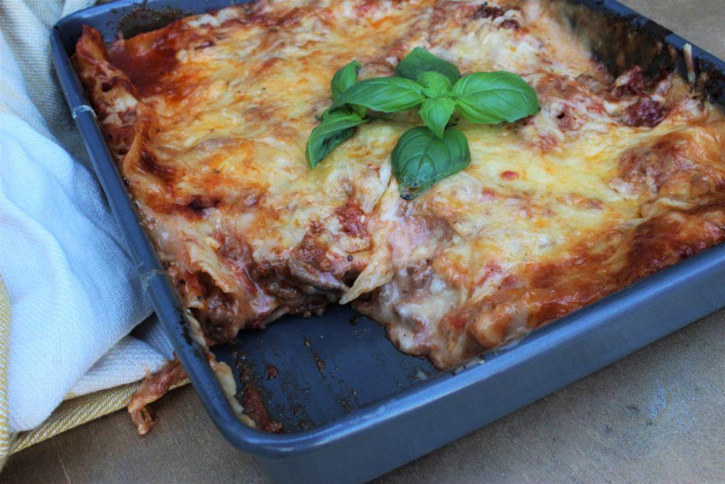 Hjemmelaga lasagne