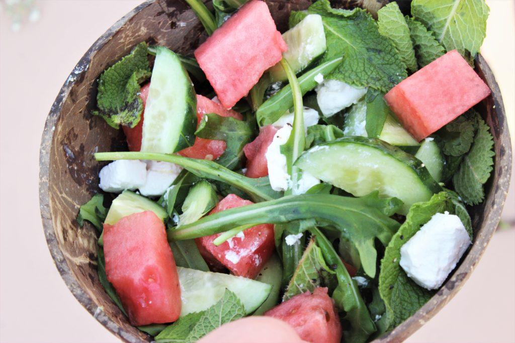 Vannmelon salat