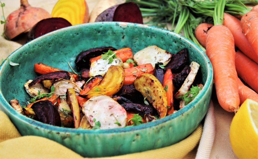Rotgrønnsaker i Airfryer